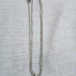 Stainless steel chain necklace 18 inches