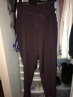 Plum Trousers