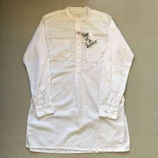 Engineered garments 白色長身恤衫