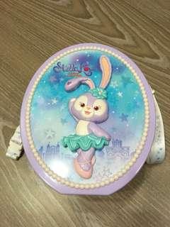{💝限時出清優惠價}~二手私物❤️東京迪士尼海洋 芭蕾舞 史黛拉爆米花桶🍿️ 存錢桶