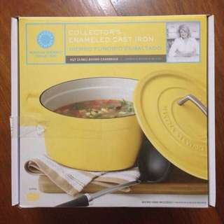 Martha Stewart Enameled Cast Iron
