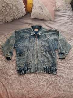 Vintage retro denim jacket