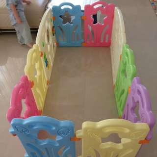 Kid safety Play Fence 8+1+1