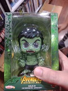 Hot toys cosbaby Hulk Screaming Version