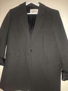 Babaton oversized grey blazer size 1