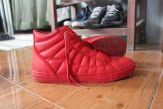 Zara red sneakers
