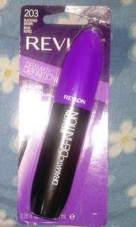 🆕 Revlon Dramatic Definition Mascara ( 203 Blackened Brown )
