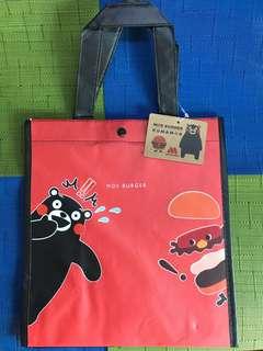 Kumamon🐾 x Mos Burger 🍔 Tote Bag