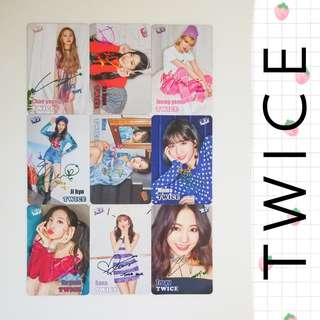 34期 Twice yescard