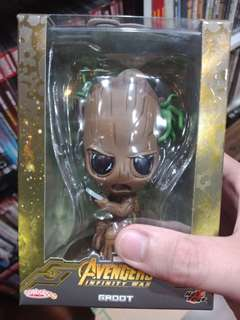 Hot toys cosbaby Infinity war Groot