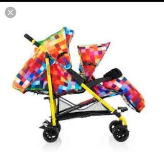 Cosatto Shuffle Tandem Stroller