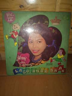 Piringan hitam vinyl lagu Anak Vol 4