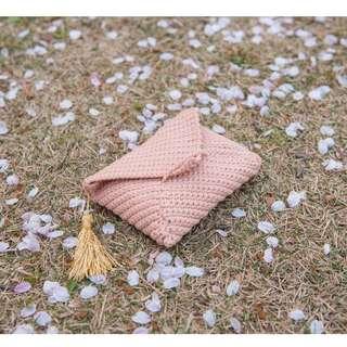 Sakura Flavoured Clutch Crochet Pattern & Kit
