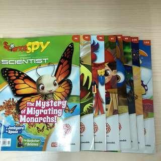 Science spy 94 95 96 97 98 99 100 102