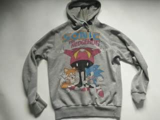 Jacket sweater hoodie pull and bear x sonic