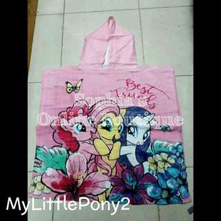 Kids Character Hooded Bath Towel - MY LITTLE PONY #2