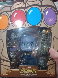 Hot toys cosbaby Infinity war Thanos and the Black order
