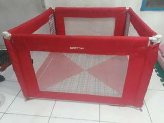 REPRICED!!! (From 4,000) Playpen (Baby 1st) with FREE Uratex Foam