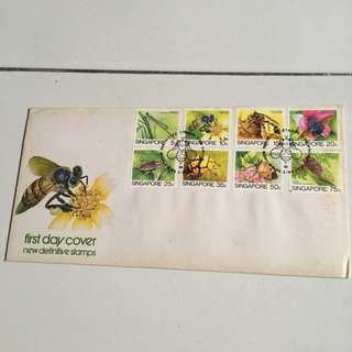Singapore Stamps 1985