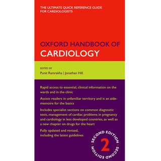 Oxford Handbook of Cardiology 2nd Second Edition by Punit Ramrakha, Jonathan Hill - Oxford University Press