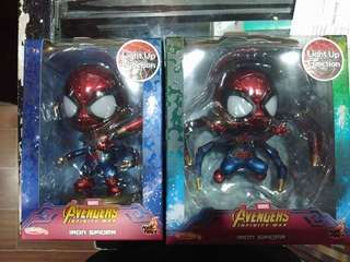 Hot toys cosbaby Infinity war  Spiderman