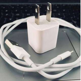 Iphone Lightning Cable and Power Adapter (IPHONE CHARGER)