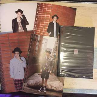 Suho notebook exo