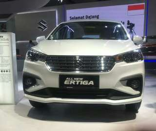 All New Ertiga Open Indent