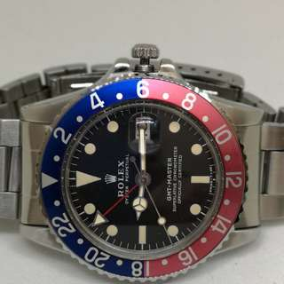 Rolex 1675 GMT Master circa 1971 Full collector set