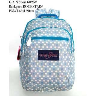 Tas Wanita Ransel G.A.N Sport Backpack Rockstar 6025 - 11 PROMO..!!