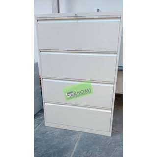 4 LAYER LATERAL CABINET (Recessed Handle)--KHOMI