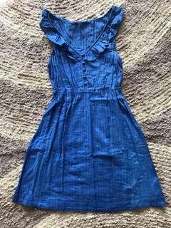 NEW LOOK blue DRESS