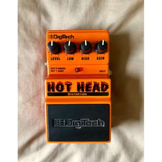 Digitech Hot Head Distortion Pedal