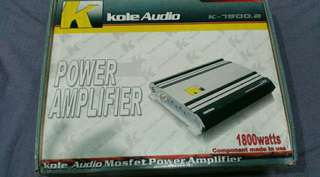 Kole Audio Power Amplifier 1800Watts
