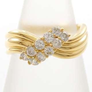 0.5 cts - 18k Diamond Ring - Vintage