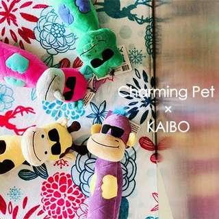。美國 Charming Pet 狗狗玩具。Bottle Bros
