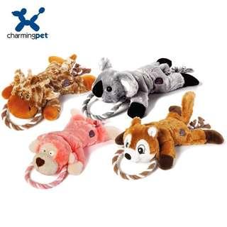。美國 Charming Pet 狗狗玩具。Ropez Gone Wild