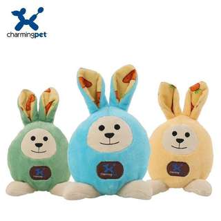 。美國 Charming Pet 狗狗玩具。Easter Egg