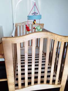 Mothercare Solid Wood Baby Cot