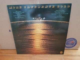 Credence Clearwater Revival CCR Gold Vinyl LP Original Pressing Rare