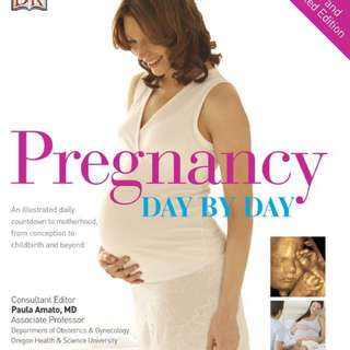 Pregnancy Day by Day Hardcover Book