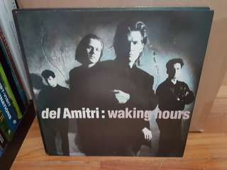 Del Amitri Waking Hours Vinyl LP Original Pressing Rare