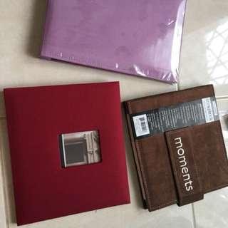 Scrapbook photo album 3album