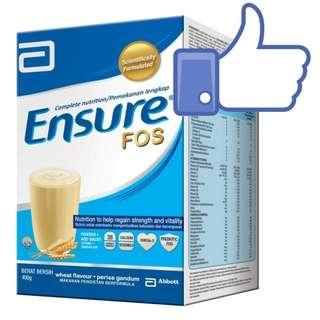 Abbott Ensure FOS (Wheat) Box 400g