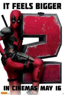 2x Extreme Screen 'Deadpool 2' Movie Tickets