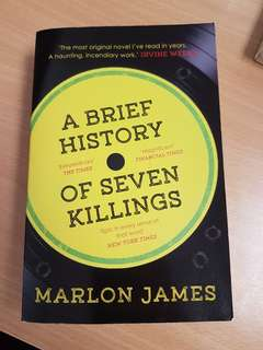 Marlon James A History Of Seven Killings
