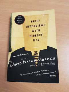 David Foster Wallace Brief Interviews With Hideous Man