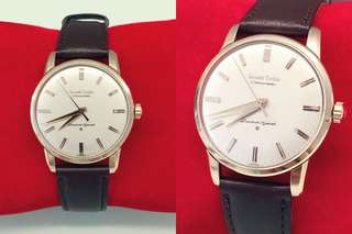 Authentic First Grand Seiko Watch J14070 Cal 3180