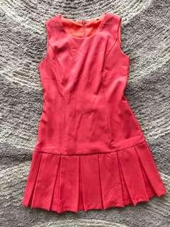 Dress buntung pleats
