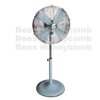 Vintage Retro Pastel Standing Fan